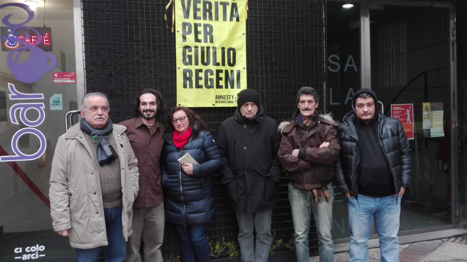 4 anni senza giulio amnesty international pc